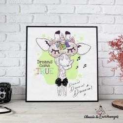"""Ilustración """"Dreams come..."""