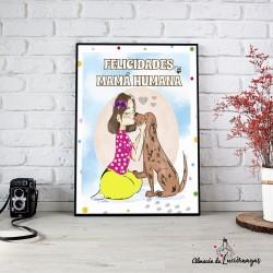 """Ilustración """"Felicidades..."""