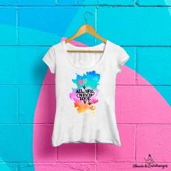 "Camiseta ""All We Need Is Love"""